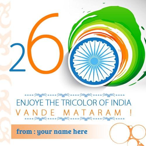 26 january happy republic day images name