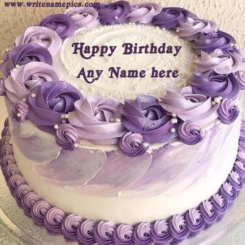 Create Online Happy Birthday Greeting Cake