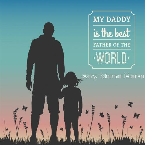 Happy Fathers Day Quotes With Name images free
