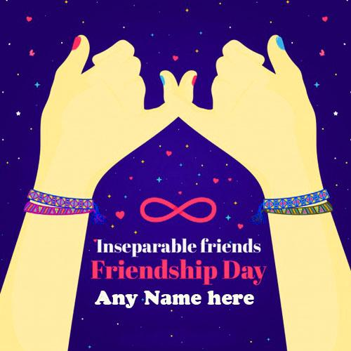 Happy Friendship Day Wishes wishes your besty with name pic