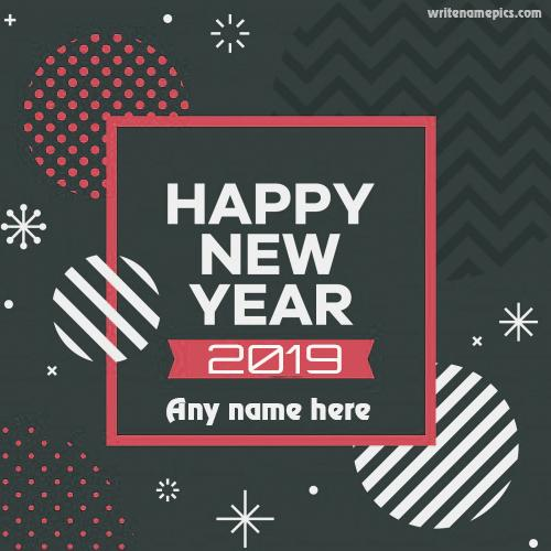 Happy New Year 2019 wishes greeting card images