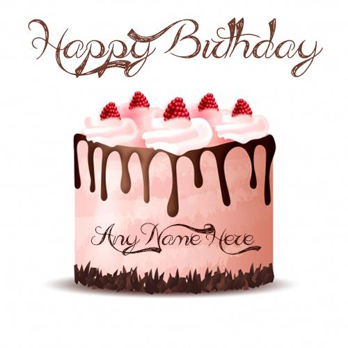 Online birthday wishes special friend with any name image for free