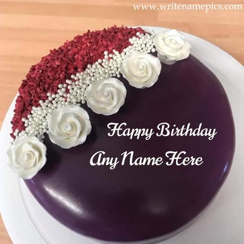Specially Create Happy Birthday Greetings with Name