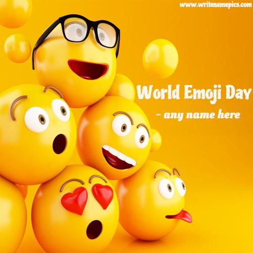 World Emoji Day Wishes Greeting Cards and Pictures