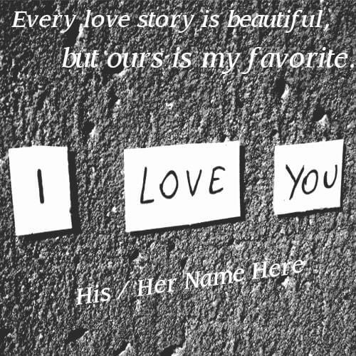 Write Name I love You Images With Name Edit