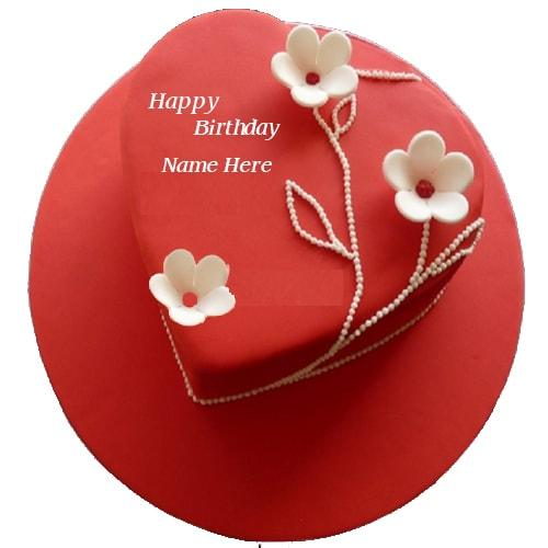 Write Name On Birthday Cake For Love