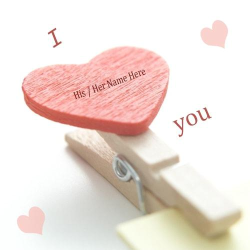 beautiful i love you images with name edit