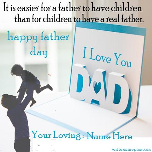 fathers day wishes quotes cards with name edit