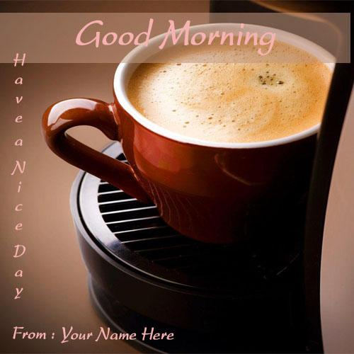 print name good morning wishes quotes birds greeting cards