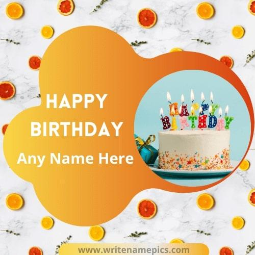 happy birthday beautiful card with name