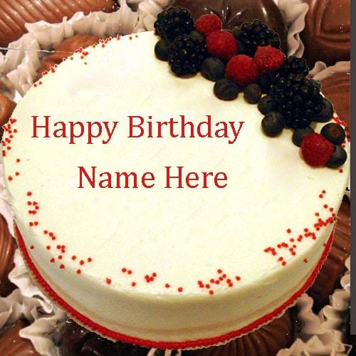 Lovely Birthday Cake with Name Happy Birthday Cake Images All