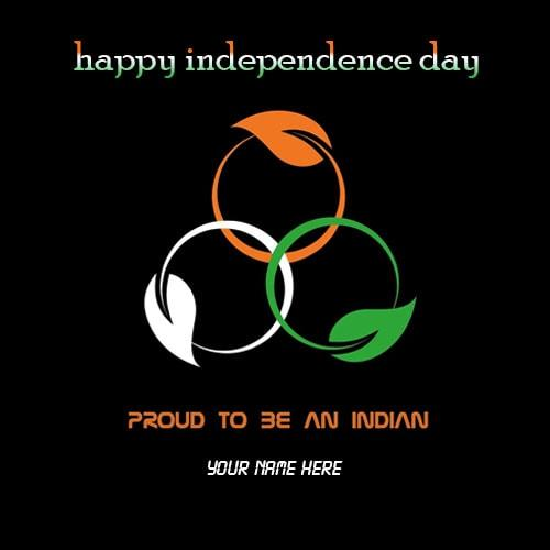 happy independence day greetings image with name edit