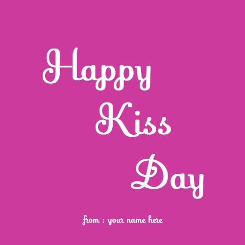 happy kiss day images name pix