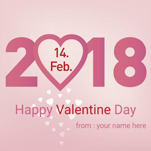 Happy valentine day wishes quote greeting card image name edit happy valentine special greeting cards with name pic free m4hsunfo Images