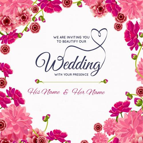 Write your name on happy anniversary wishes card happy wedding anniversary wish images free download m4hsunfo