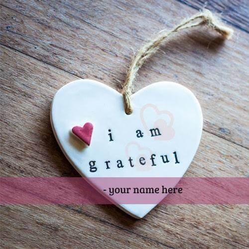 i am grateful quotes name cards