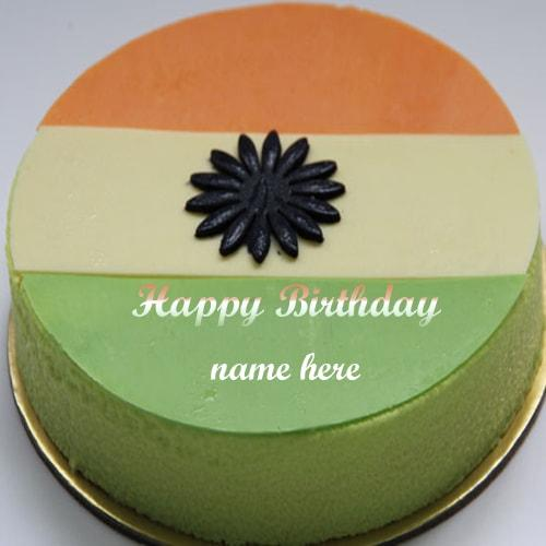 independence day special birthday cakes greetings