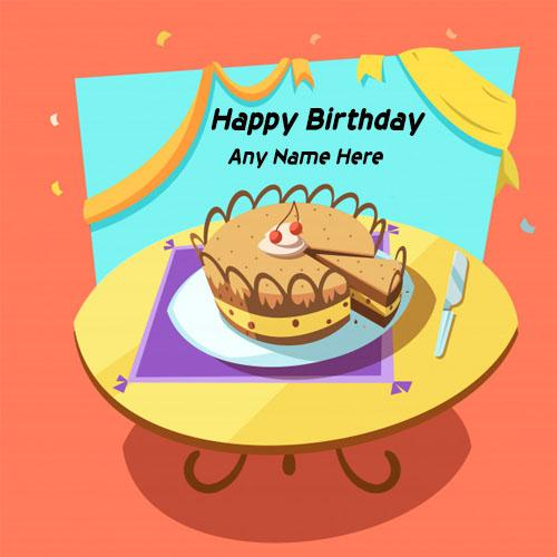 online edit names on birthday cakes images