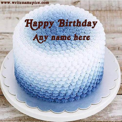 online happy birthday cake with name edit free download
