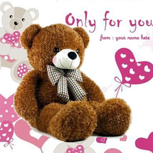 only for you happy teddy bear pics