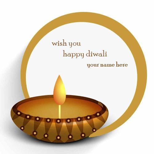 wish you happy diwali image name editor