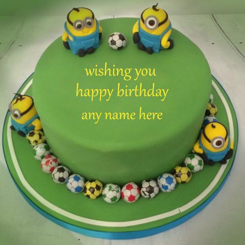 write name on happy birthday cakes for boys free