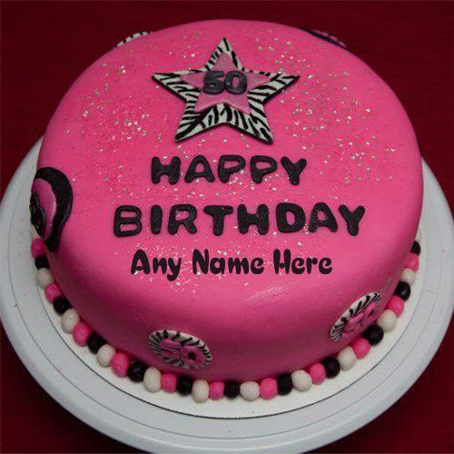 how to write name on birthday cake online