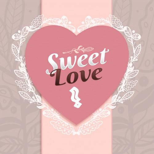 write your alphabet on sweet love images for free