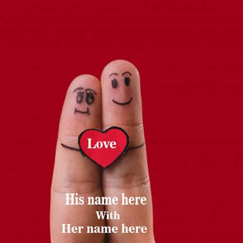 write your name on love fingers images whatsapp dp free