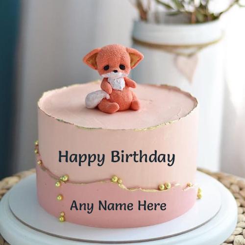 Awe Inspiring Birthday Wishes Cake With Name Editor Cake Birthday Cards Printable Giouspongecafe Filternl
