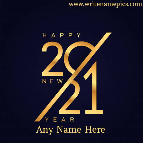 Create personalized Ecard which is for year 2021