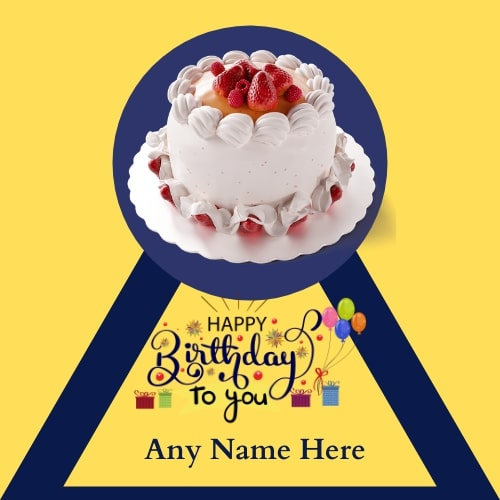Free Happy Birthday Card with Name image
