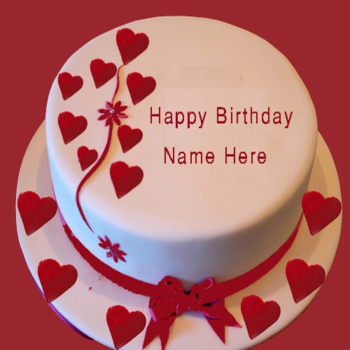 Cake Images With Name Shubham : Happy Birthday Cake For My Girlfriend With Name Edit