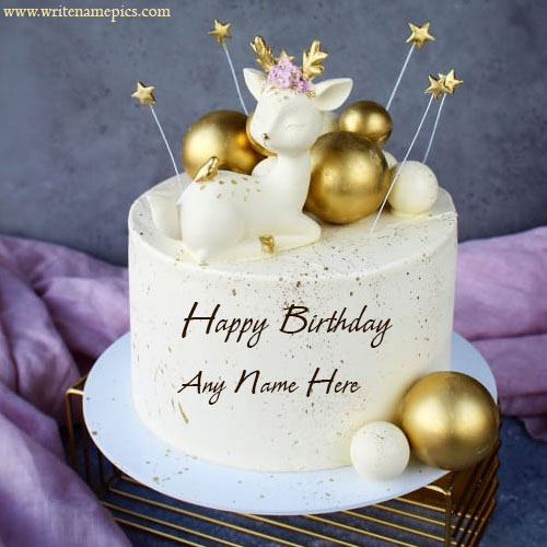 Happy Birthday Cake wishes With Name Editor Online