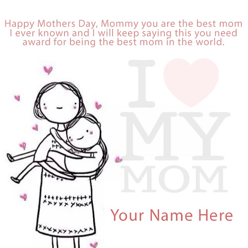 Happy Mothers Day wishes With Name