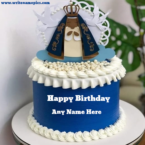 Lovely Happy Birthday wishing Cake with Name