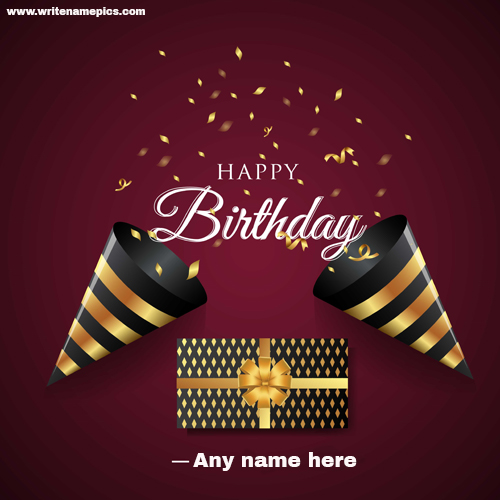 Make Amazing Happy Birthday wishes Card online