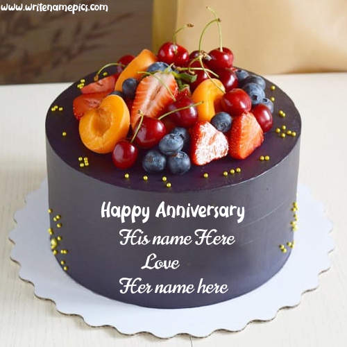 Make best anniversary cake for your Hubby or wifey