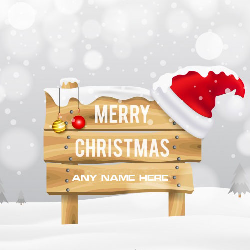 Merry Christmas Wishes Images With Your Name