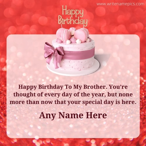 Special Happy Birthday Card with Name