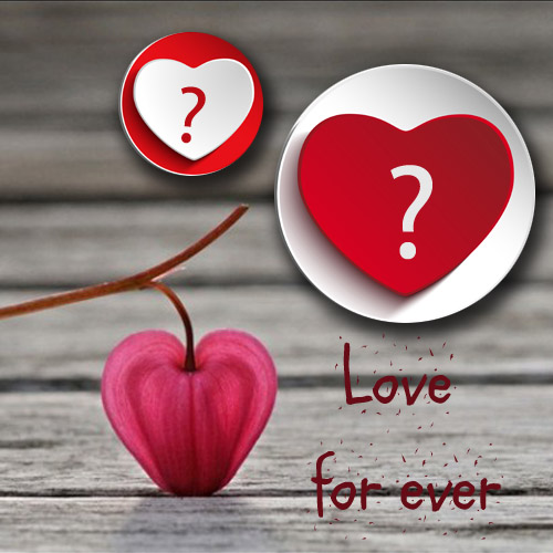 Write Name On Love Forever Alphabet Heart Picture