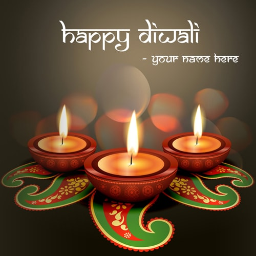 Happy diwali greetings cards with name edit beautiful happy diwali greetings cards with name edit m4hsunfo Images