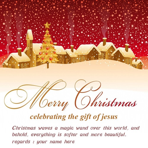christmas celebrating the gift of jesus wishes greetings cards