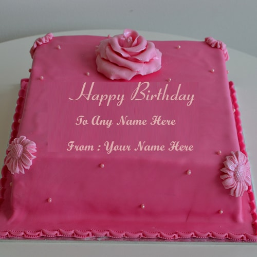 happy birthday cake for friends images with name edit