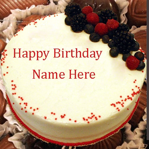 Terrific Happy Birthday Chocolate Cake For Friends With Name Editor Funny Birthday Cards Online Chimdamsfinfo