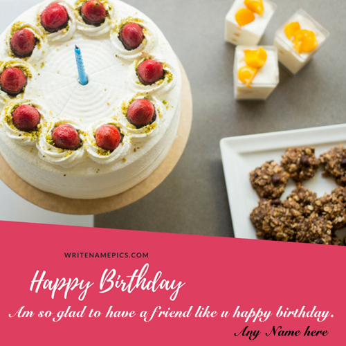 Happy Birthday Special Images Card With Name Edit Online Free