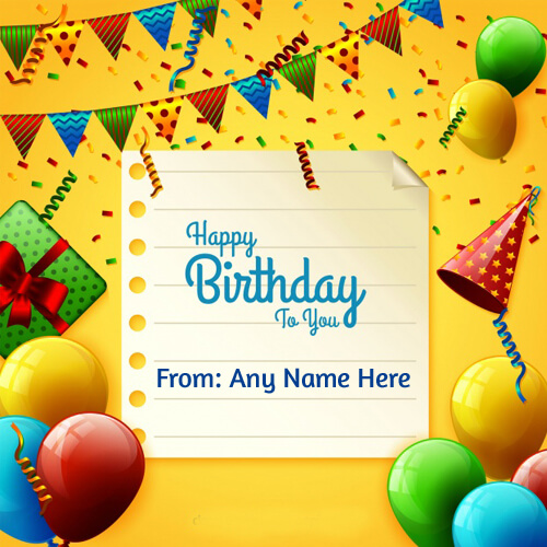 happy birthday to you wishes greeting decorations cards pic