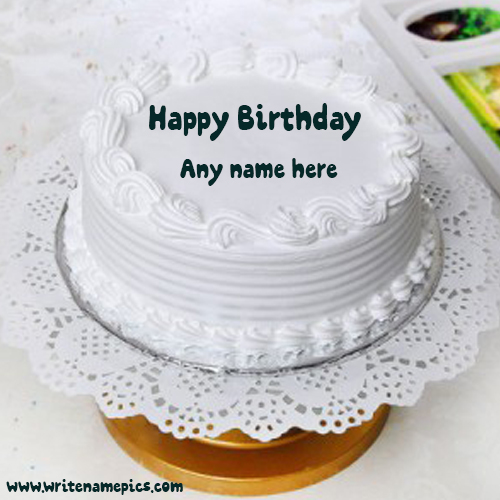happy birthday wishes cake with name maker