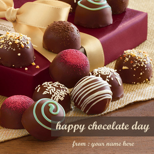 Happy Chocolate Day 2018 Wishes Greetings Cards