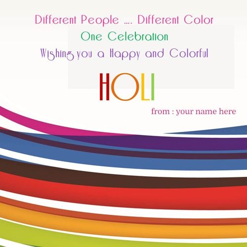happy holi celebration quote greeting cards